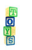 Bloques de los juguetes Foto de archivo libre de regalías