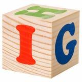 Bloques de madera Imágenes de archivo libres de regalías