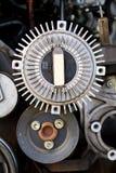 Bloques de motor autos de la reparación del salvamento imagen de archivo