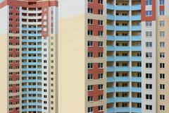 Bloques de viviendas Fotografía de archivo libre de regalías