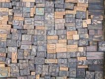 Bloques del alfabeto griego Fotos de archivo libres de regalías