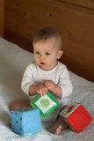 Bloques del bebé Imagen de archivo