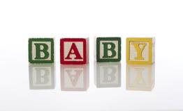 Bloques del bebé Foto de archivo libre de regalías