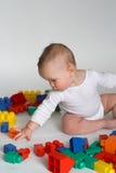 Bloques del bebé Fotos de archivo libres de regalías