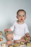 Bloques del bebé Fotografía de archivo libre de regalías