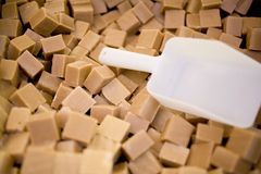 Bloques del dulce de azúcar Imagen de archivo
