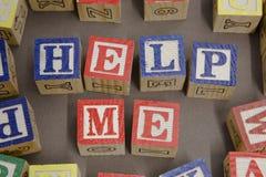 Bloques del juego Foto de archivo libre de regalías