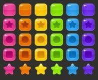 Bloques del juego Imagen de archivo libre de regalías