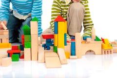Bloques del juguete Imagen de archivo libre de regalías