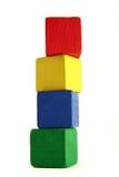 Bloques del niño - altura Imagen de archivo