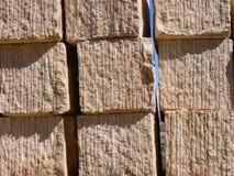 Bloques extraídos de la piedra imagen de archivo libre de regalías