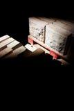 Bloques huecos Fotografía de archivo libre de regalías