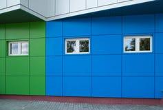 Bloques huecos coloreados Imagenes de archivo