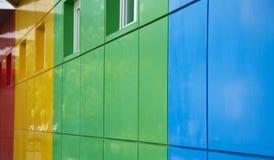 Bloques huecos coloreados Fotografía de archivo libre de regalías