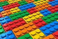 Bloques huecos del color Fotos de archivo