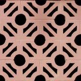 Bloques huecos del estilo de los azulejos españoles de la hacienda Fotos de archivo