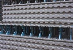 Bloques huecos modernos Foto de archivo