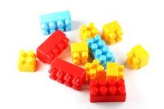 Bloques huecos plásticos Imagen de archivo