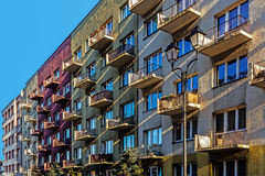 Bloques residenciales ordinarios Foto de archivo