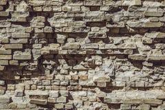Bloquez l'extérieur de construction de mur de briques, modèle matériel en pierre, structure Image stock