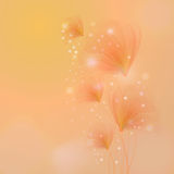 Blossom with bokeh effect Royalty Free Stock Photos