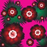 Blossom flowers. Illustration,  art Stock Photos