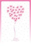 Blossom heart Royalty Free Stock Photo