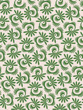 Blossom Leaves Botanical Seamless Wallpaper Design royalty free stock photos