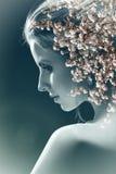 Blossom sensual woman Stock Image