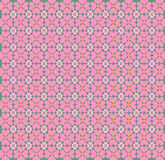 Blossom in the shape of hearts pattern Royalty Free Stock Images