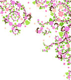 Blossom tree royalty free illustration