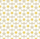 Blossom vector pattern Royalty Free Stock Photo