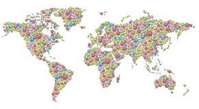Blossom world Stock Image