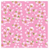 Blossoming seamless texture Royalty Free Stock Photography