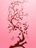 Blossoming tree. Royalty Free Stock Images
