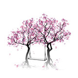 Blossoming trees. Stock Photo