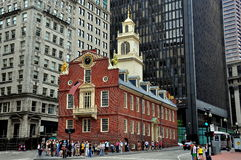 Boston, MA: The Old State House Stock Image