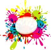 Blot abstract background Stock Photography