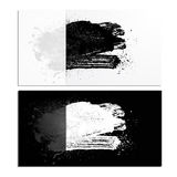 Blot 01 card. Smudge and smear a brush in a card, vector background, illustration clip-art royalty free illustration