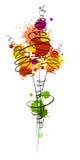 Blot_flourish_bouquet Stock Photos