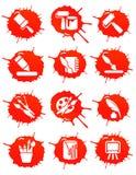 Blot icons Stock Image