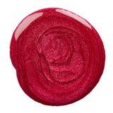 Blot of nail polish Stock Image