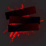 Blot 01 rad. Rad spray background, vector illustration royalty free illustration