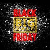 Blot 15 sale. Black friday sale background, vector illustration clip-art royalty free illustration