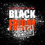 Blot 11 sale. Black friday sale background, vector illustration clip-art royalty free illustration