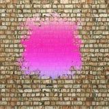 Blot of violet paint Stock Image