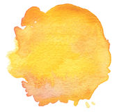 Blot watercolor painted background. Stock Image