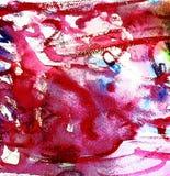Blotch. Pink Blotch . raster illustration. watercolor royalty free illustration