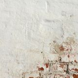 Blotch Red White Old Brick Wall Frame Background Texture Royalty Free Stock Image