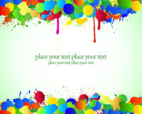 Blots color background. Royalty Free Stock Photos